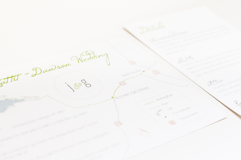 Wedding Map and Details