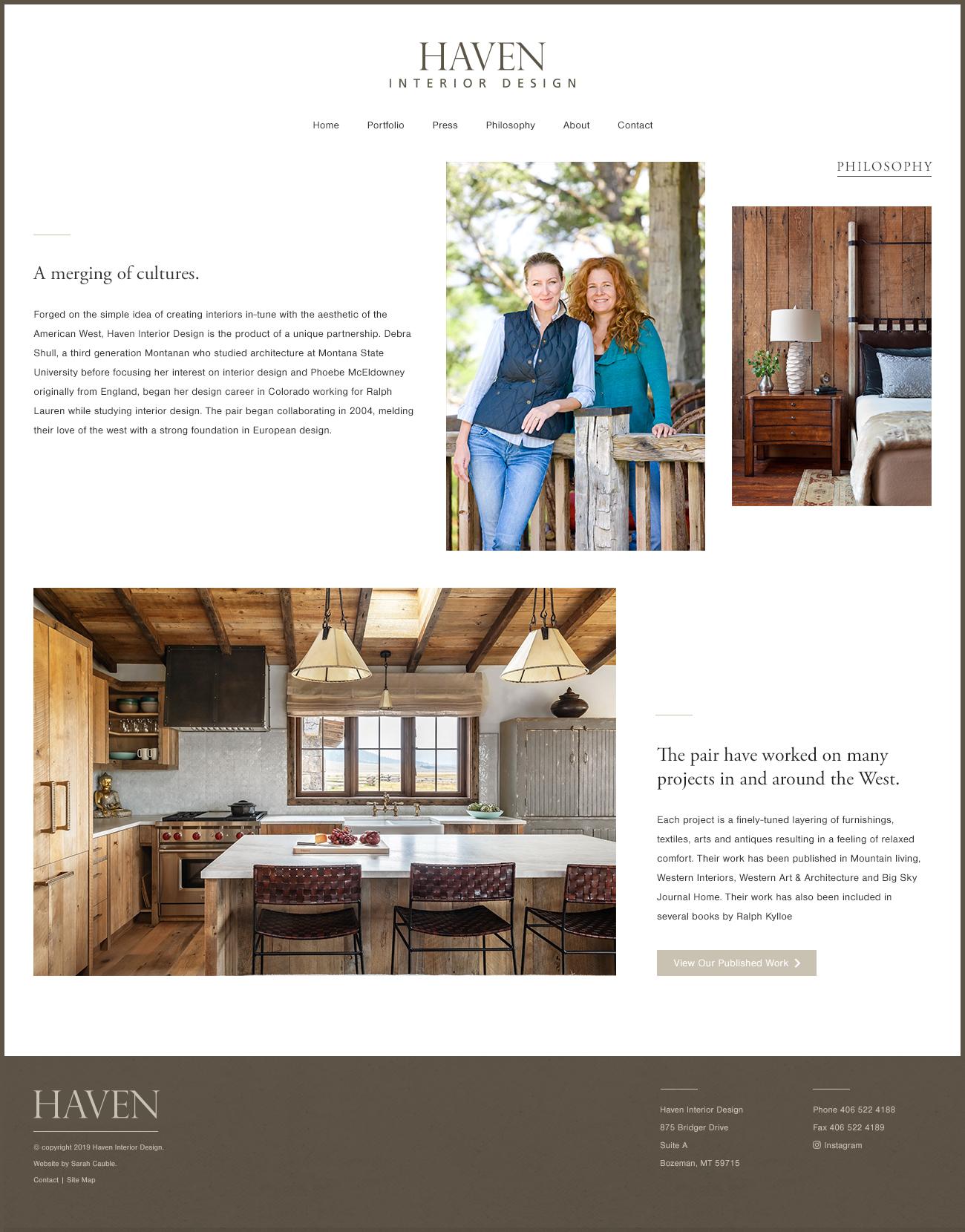 Haven Interior Design | Sarah Cauble